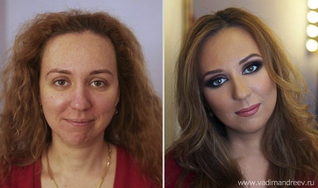 antes e depois da maquiagem 19