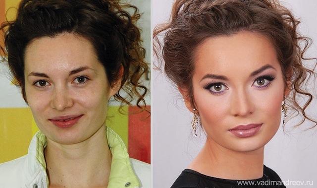 antes e depois da maquiagem 5