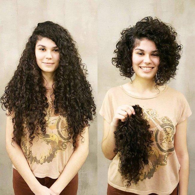 antes e depois de mudar de visual 4