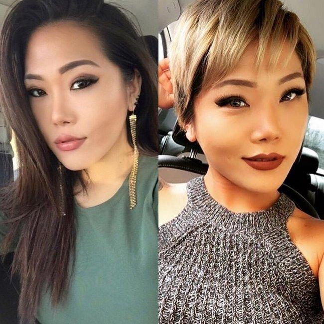 antes e depois de mudar de visual 6