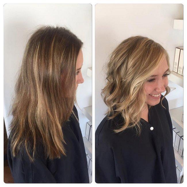 antes e depois de mudar de visual 8