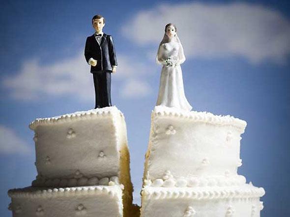 bolo de divórcio