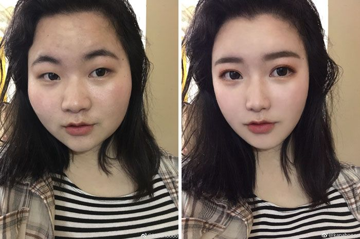foto redes sociais antes e depois de edição 3