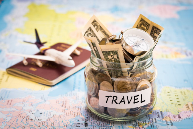 guardar dinheiro para viajar