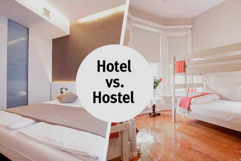 hostel ou hotel