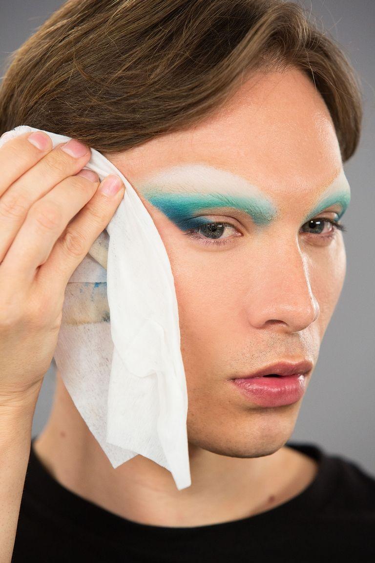 maquiagem miss fame lenço de limpeza