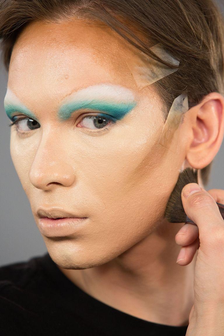 maquiagem miss fame pincel de maquiagem