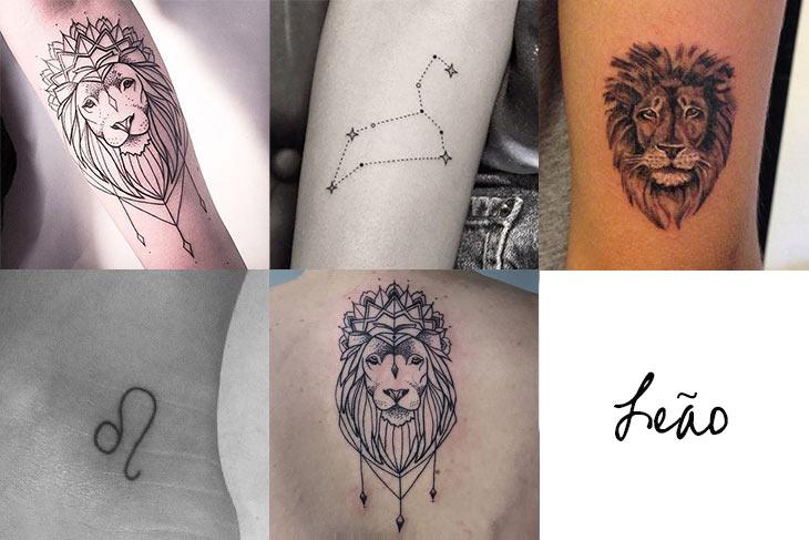 tatuagem-signo-leão