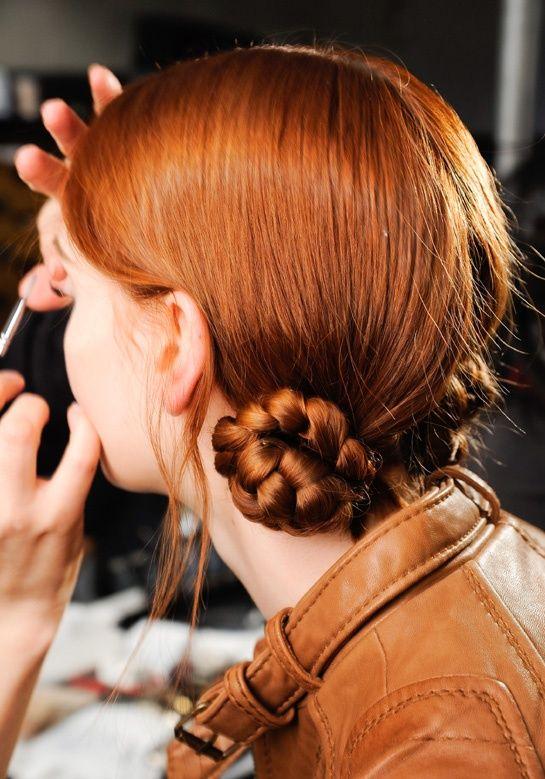 tendência penteado inverno dois coques