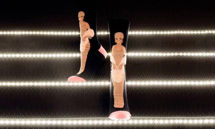 Meias Fenty para Stance o glamour de Rihanna no CFDA Awards de 2014