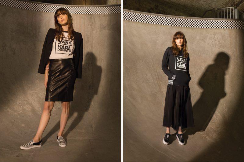 VANS lança coleção em parceria com Karl Lagerfeld 3