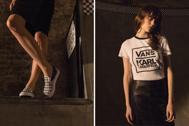 VANS lança coleção em parceria com Karl Lagerfeld 4