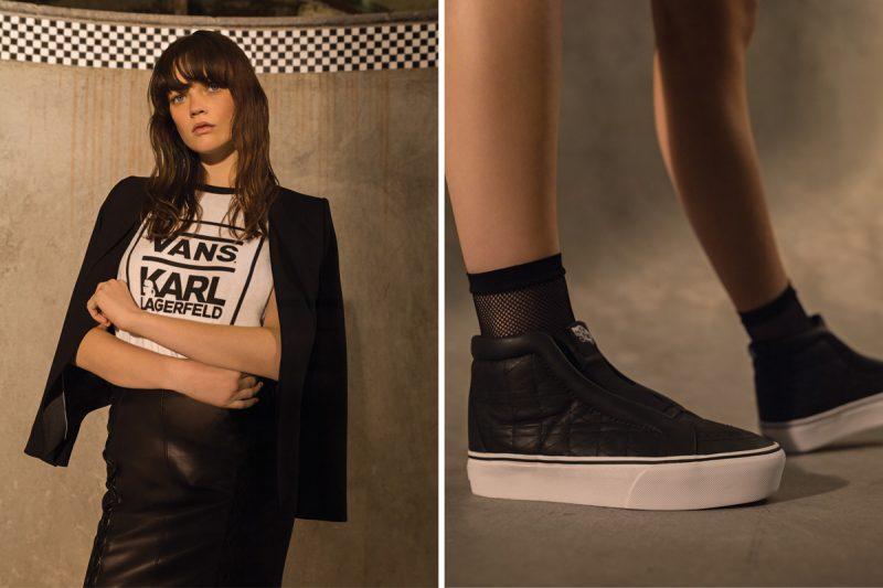VANS lança coleção em parceria com Karl Lagerfeld 6