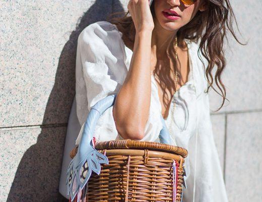 bolsa de palha modelos verão
