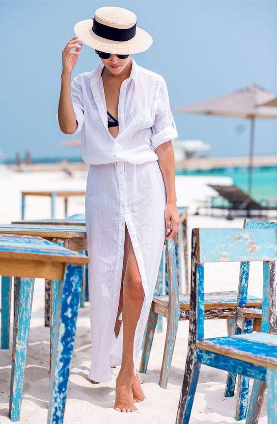 7033c4d8e Saídas de praia: Moda verão 2019 | We Fashion Trends
