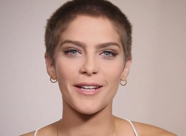 celebridades com cabelo raspado