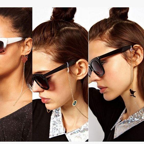 corrente para óculos com pigentes