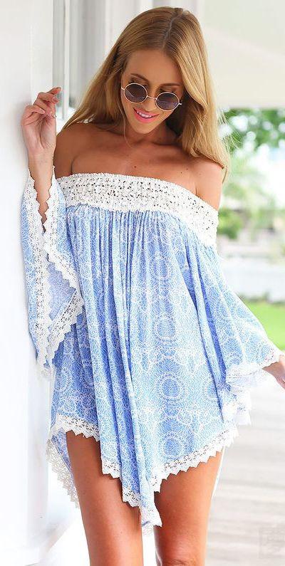 vestido ombro a ombro saida de praia