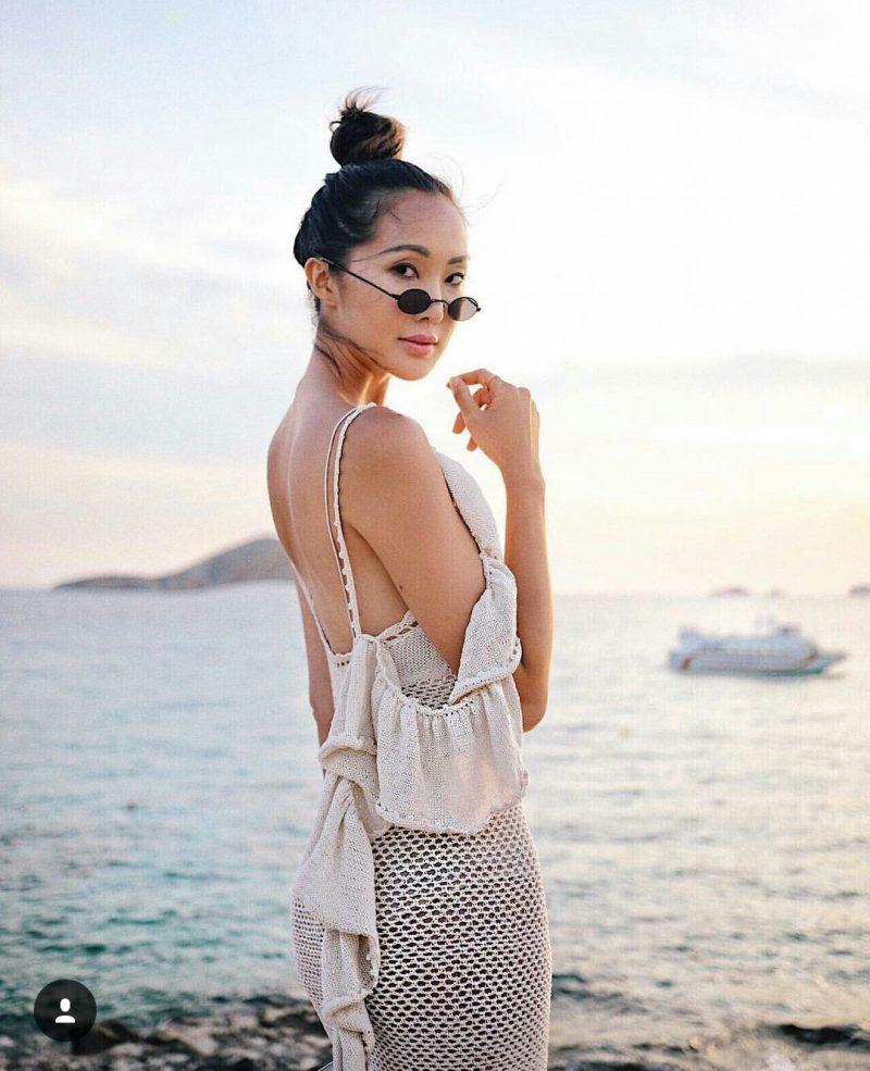 óculos de sol com mini lentes looks
