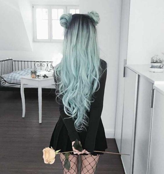 cabelo colorido fotos tumblr