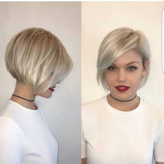 cabelo curto tendência 2018