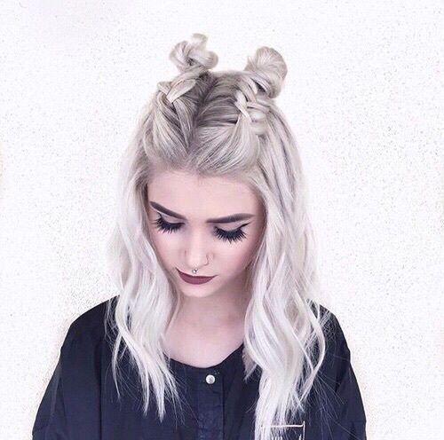 cabelos tumblr inspiração