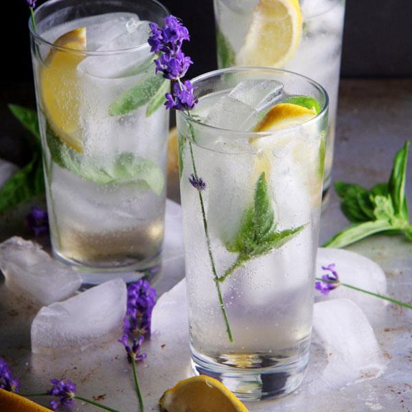 coquetel de verão com gim