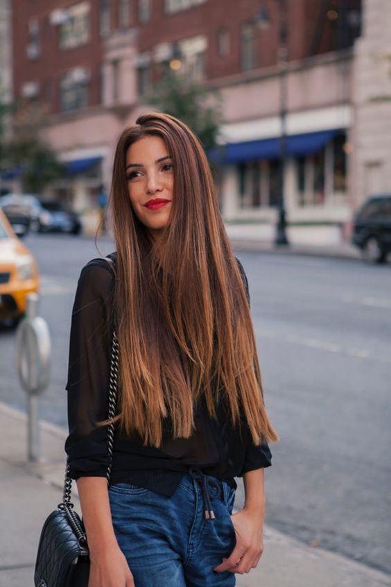corte de cabelo 2018 cabelo reto