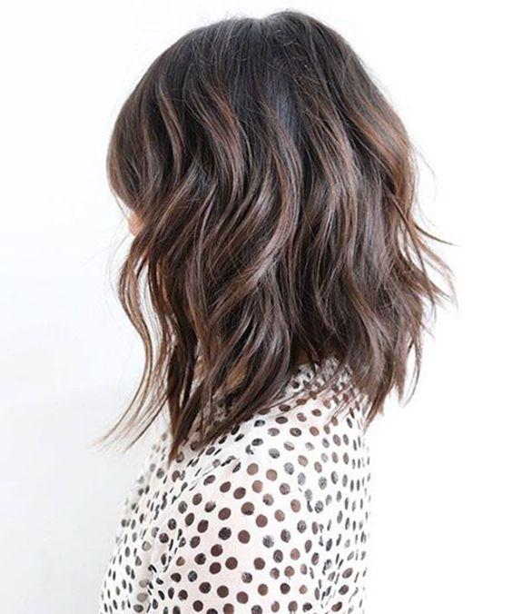 corte de cabelo 2018 long bob