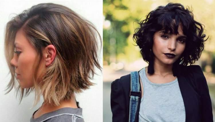 corte de cabelo 2018 short bob