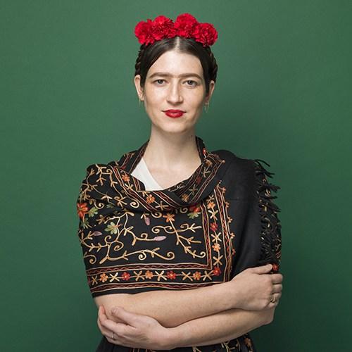 fantasia criativa e fácil de fazer frida kahlo