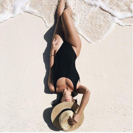 91 Best At The Beach Images On Pinterest: Como Tirar Fotos Estilo Tumblr: Poses Fáceis De Fazer