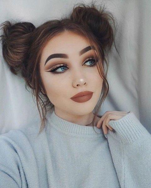 maquiagem estilo tumblr