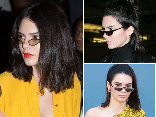 mini óculos de sol kendal jenner