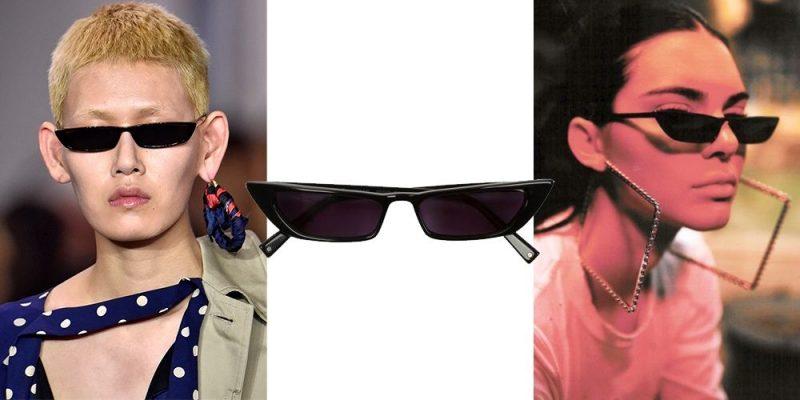 mini óculos estilo matrix