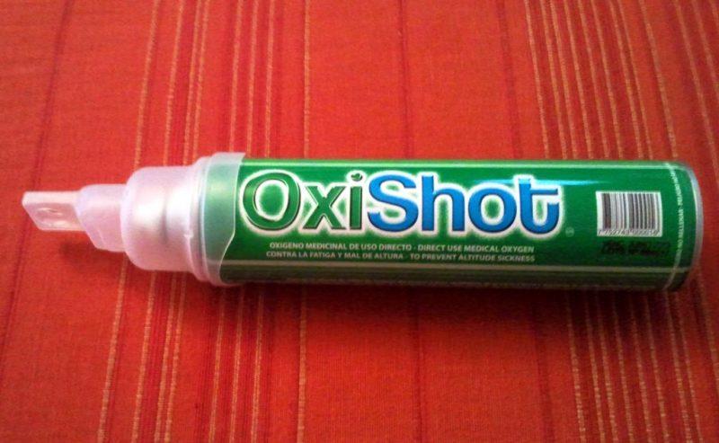 oxishot oxigênio para altitude em cusco