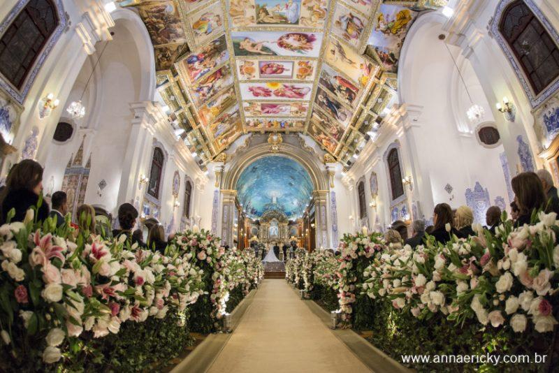 Paróquia Nossa Senhora do Brasil casamento