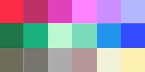 coloração pessoal cartela verão