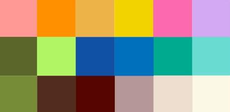 coloração pessoal primavera