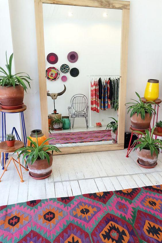 decorando com tapete