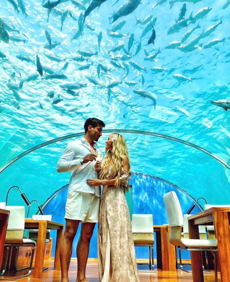 foto restaurante ithaa maldivas