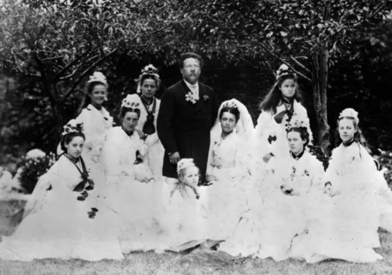 madrinhas de casamento fotos antigas