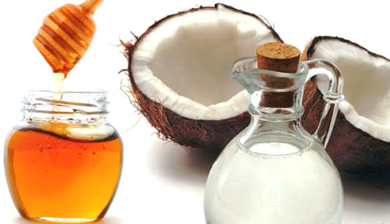 peeling caseiro com mel e óleo de coco