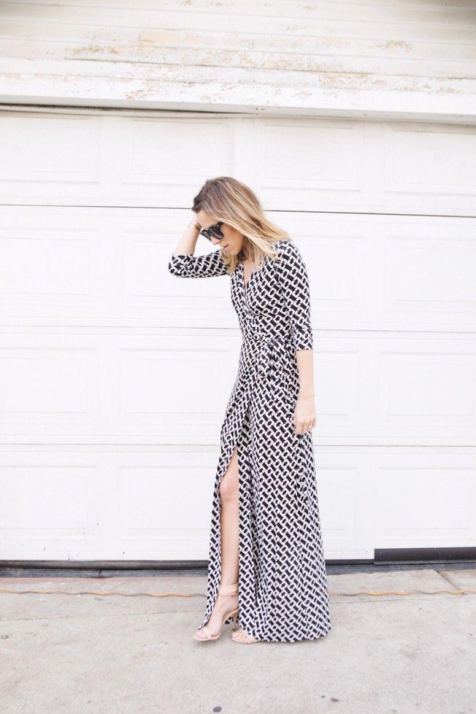 vestido-envelope-longo estampado
