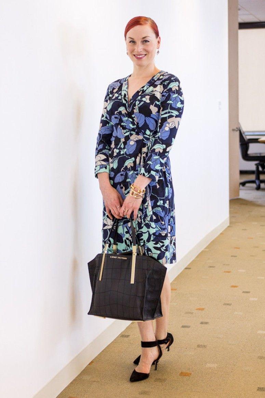 vestido envelope trabalho formal