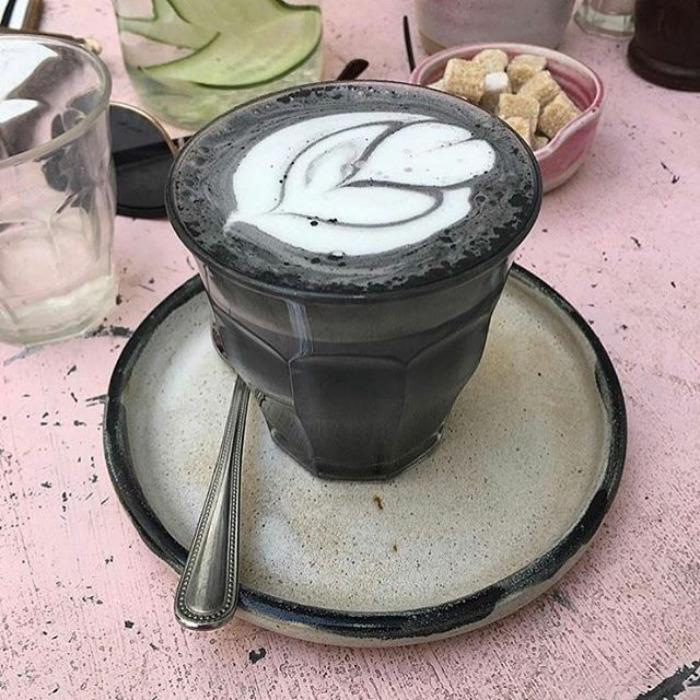 café gótico preto foto