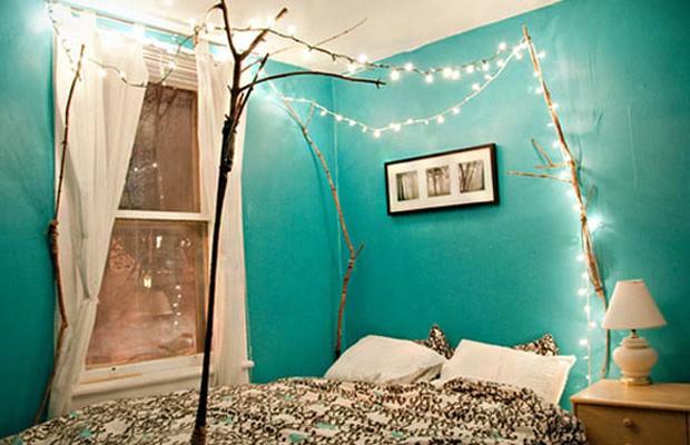 decoração iluminação com pisca pisca quarto1