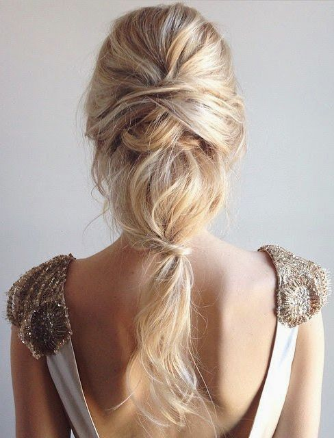 penteado madrinha de casamento cabelo longo casamento ao ar livre