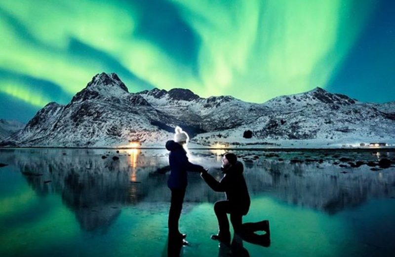 casamento aurora boreal