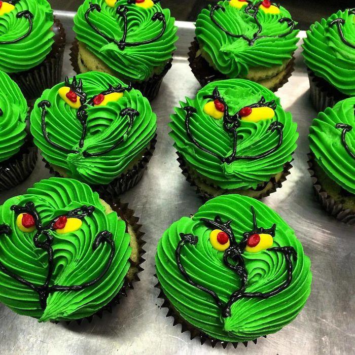 cupcake de natal 2